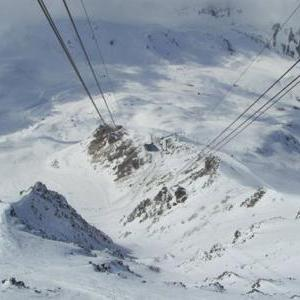 Cable Car on the Aguille Rouge